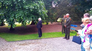 President Miguel D Higgins at the ENGO Garden party 2016